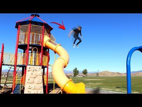 3 Story Playground PARKOURSE Parkour Challenge