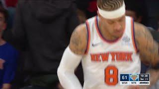 Quarter 3 One Box Video :Knicks Vs. Wizards, 10/12/2017
