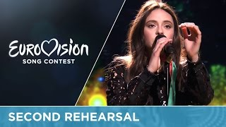 Francesca Michielin - No Degree Of Separation (Italy) Second Rehearsal