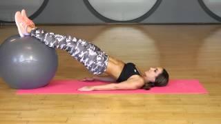 Leg Workout | Stability Ball