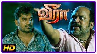 Veera Tamil Movie Scenes 2018 | Iswarya returns home | Krishna is attacked | Latest Tamil Movie