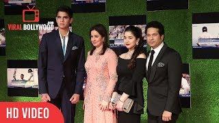 Sachin Tendulkar, Anjali Tendulkar, Sara & Arjun Tendulkar at Sachin A Billion Dreams Grand Premiere