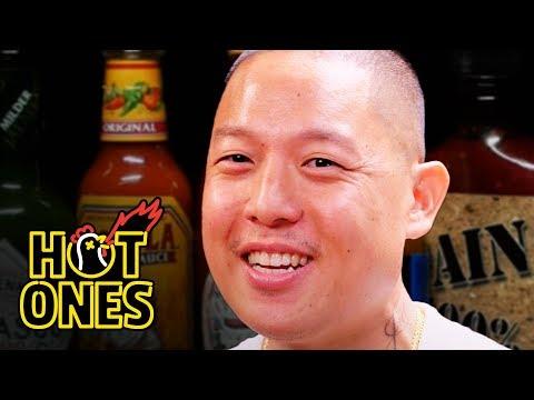 Eddie Huang Seeks Revenge Against Spicy Wings Hot Ones