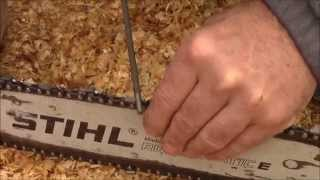 HOW TO SHARPEN A CHAINSAW. (THE RIGHT WAY)