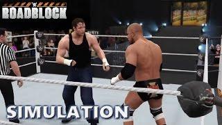 WWE 2K16 SIMULATION: Triple H vs Dean Ambrose | Roadblock Highlights