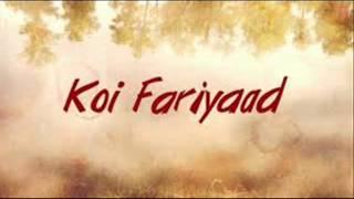 Koi Fariyaad | Tum Bin | Main Aur Meri Tanhai | Silsila | Vishal | Jagjit Singh | Amitabh Bachchan
