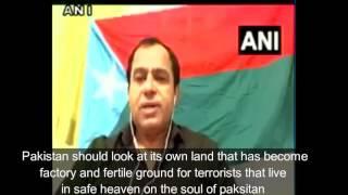 BRP spokesman Sher Mohammad Bugti slams Pakistan