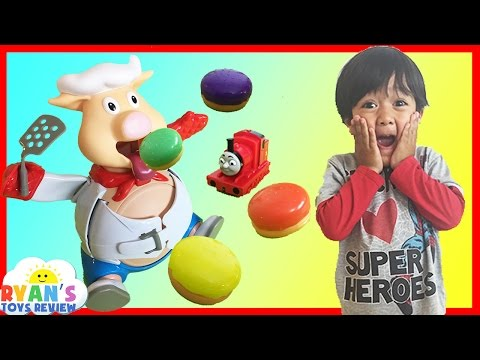 Xxx Mp4 Pop The Pig Family Fun Game For Kids With Egg Surprise Toys 3gp Sex