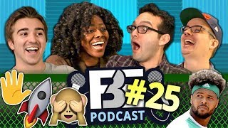 FBE PODCAST | Emoji Bias, Broken Bones, Privilege, & Happiness (Ep #25)
