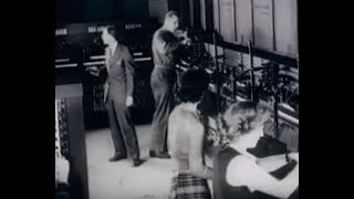Footage of the ENIAC at the Moore School of Engineering, 1946