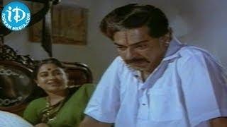Mammootty, Radhika, Master Manjunath  Emotional Scene - Swati Kiranam Movie