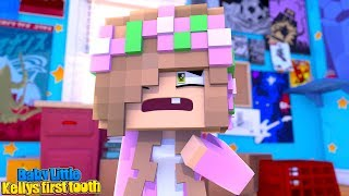 BABY LITTLE KELLYS FIRST EVER TOOTH! | Minecraft Little Kelly