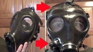 How to preserve and polish up a Gas Mask