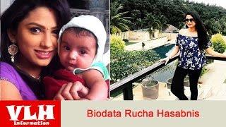 Biodata Rucha Hasabnis Pemeran Rashi dalam Serial Gopi di ANTV