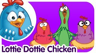 Lottie Dottie Chicken - UK - Nursery Rhymes and songs