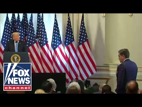 Jim Acosta asks Trump to call on a female reporter
