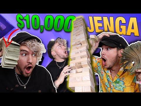 10 000 GAME OF LIFE SIZED JENGA 7 FOOT BOARD GAME