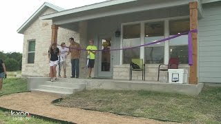 Transitional home move-in ready for first former foster child