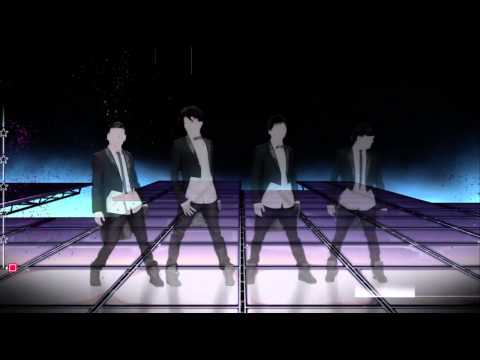 Just Dance 4 One Direction What Makes You Beautiful w lyrics Xbox 360 Kinect 720P gameplay