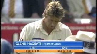 Steve Harmison Vs Glenn McGrath - 2005