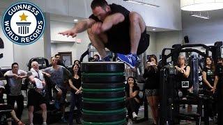 Highest Standing Jump - Guinness World Records