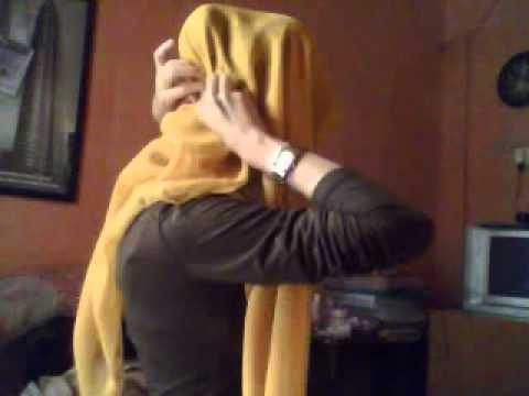youtube com TUTORIAL JILBAB PARIS 1 ichaAzka s YouTube 1