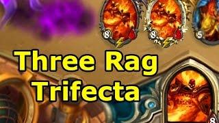 Hearthstone Gimmick Decks: Three Rag Trifecta