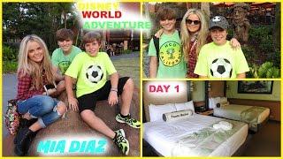 Disney World Adventure Day 1 | Mia Diaz