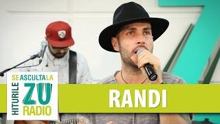 Randi - Calc pe suflete (Live la Radio ZU)
