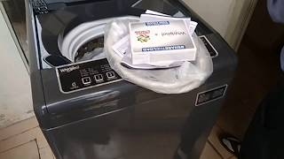 Unboxing Whirlpool 6.5 kg Fully Automatic Top Load Washing Machine Grey