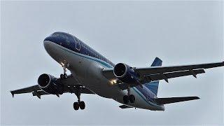 AZAL Azerbaijan Airlines Airbus A319-111 4K-AZ04 Guba J263 approaching at Berlin Tegel Airport
