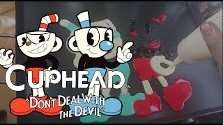 Pancake Art - Cuphead and Mugman ( Don't Deal With the Devil)