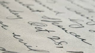 Your Hand: Signatures and Handwriting - Professor Jane Caplan