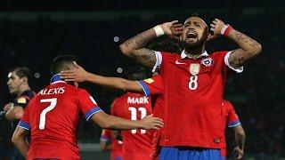 Chile 2 - 0 Brasil | Eliminatorias Rusia 2018 | Claudio Palma