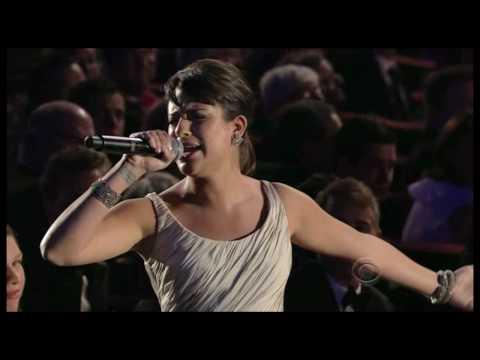 Glee s Lea Michele & Matthew Morrison at 2010 Tony Awards