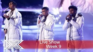 5 After Midnight sleigh with East 17's Stay Another Day | Semi-Final | The X Factor UK 2016