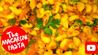 HOW TO MAKE MACARONI PASTA / HOT AND SPICY INDIAN STYLE MACARONI PASTA / TASTY RECIPE