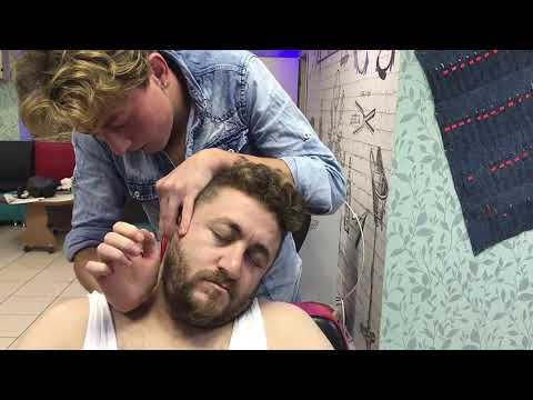 Xxx Mp4 ASMR TURKISH BARBER MASSAGE Sleep Head Back Face Arm Massage UYUTAN KAFA SIRT KOL MASAJ I 3gp Sex