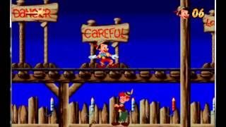 Pinocchio - Mega Drive / Genesis Longplay