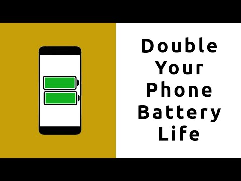 Double Your Android Battery Life For Free