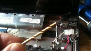 Lenovo G570 Laptop Hinge Repair