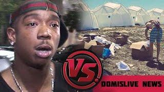 Ja Rule Fyre Festival FAILS in the Bahamas | Lil Yachty, Migos & Blink 182 Fails to Show