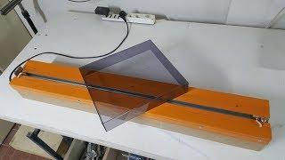 Costruire piegatrice per acrilico  - DIY bending machine for acrylic