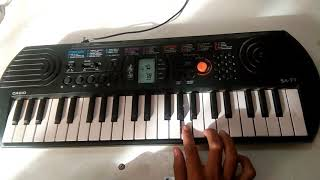 GERUA SONG (DILWALE)  CASIO CHORDS WITH FULL TUTORIAL