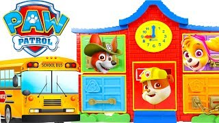 Help Paw Patrol Find Trolls at Latch & Learn School Playset Colors and Counting Pt 3