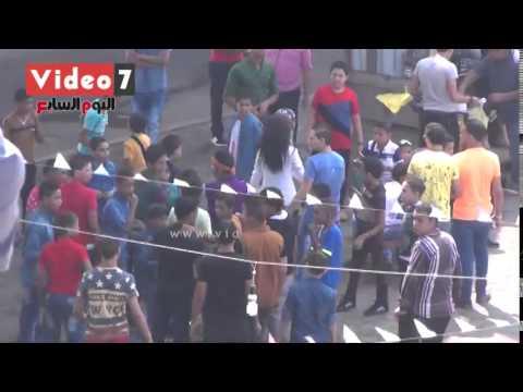 التحرش الجنسى فى عيد الفطر 2016 بمصر