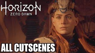 Horizon Zero Dawn All Cutscenes - Game Movie