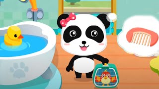 Baby Panda's Pet Beauty Salon & Dessert Shop - Gameplay Android Video
