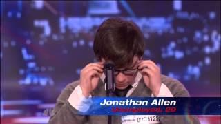 Most Emotional Audition Ever!! Jonathan Allen, Americas Got Talent