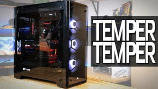 Building a PC in the Corsair 570X Tempered Glass Case